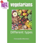 【中商海外直订】vegetarians: Different types