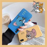 猫和老鼠8plus/7p/6s苹果x手机壳XS Max/XR/iPhoneX女iphone11Pro潮可爱卡通硅胶套全包