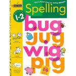 Spelling Grades 1-2 (Grades 1-2, Little Golden Book) 拼写(金色童书,学龄前练习册)9780307235701
