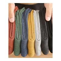 冬季袜子男中筒袜棉袜加厚加绒保暖毛巾袜冬天厚袜男士韩版 7双装 均码(40-45)加厚保暖