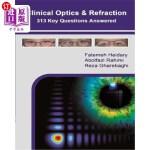 【中商海外直订】Clinical Optics and Refraction 313 Key Questions An