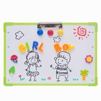 婴幼学习画画写字板宝宝玩具支架白板儿童画板家用磁性小黑板