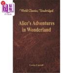【中商海外直订】Alice's Adventures in Wonderland (World Classics, U