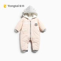 新款冬季加厚男女宝宝外出服哈衣婴幼儿连体衣6-24个月