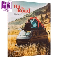 【中商原版】上路:房�旅行 英文原版 Hit the Road: Vans, Nomads and Roadside A