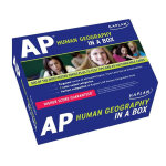 KAPLAN AP HUMAN GEOGRAPHY IN A BOX 英文原版