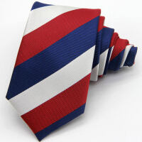 汽车4S店 男士领带 女士丝巾 凯迪拉克丝巾 新款凯迪拉克涤丝材质领带