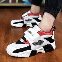 青少年大童运动鞋跑步鞋韩版男士孩透气旅游男鞋秋季潮鞋