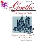 【中商海外直订】Goethe, Volume 3: Essays on Art and Literature