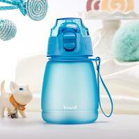 bianli鲤集儿童水杯夏季水壶弹盖直饮吸管学生便携小巧杯子380ml