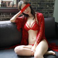 性感睡衣女透视情趣睡裙三点式内衣套装诱惑情趣睡袍