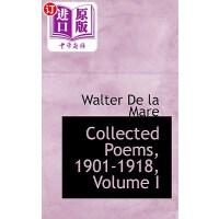 【中商海外直订】Collected Poems, 1901-1918, Volume I