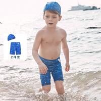 迷你巴拉巴拉儿童泳衣2020夏装新款男童宝宝可爱舒适卡通防晒