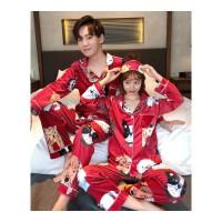 睡衣女金丝绒情侣秋冬款套装加肥男士新婚长袖学生韩版可爱两件套