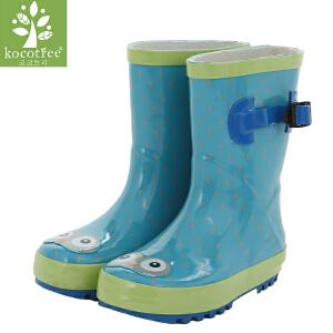 kocotree儿童雨靴男童春夏中筒女童雨鞋学生宝宝防滑橡胶水鞋