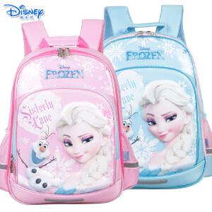 迪士尼冰雪奇缘女童1-4年级减负护脊小学生双肩卡通书包FP8065