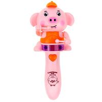 宝宝手拿音乐棒 婴儿玩具海草猪打鼓音乐棒 手拿电动声光摇摇乐宝宝0-1-2岁小玩具