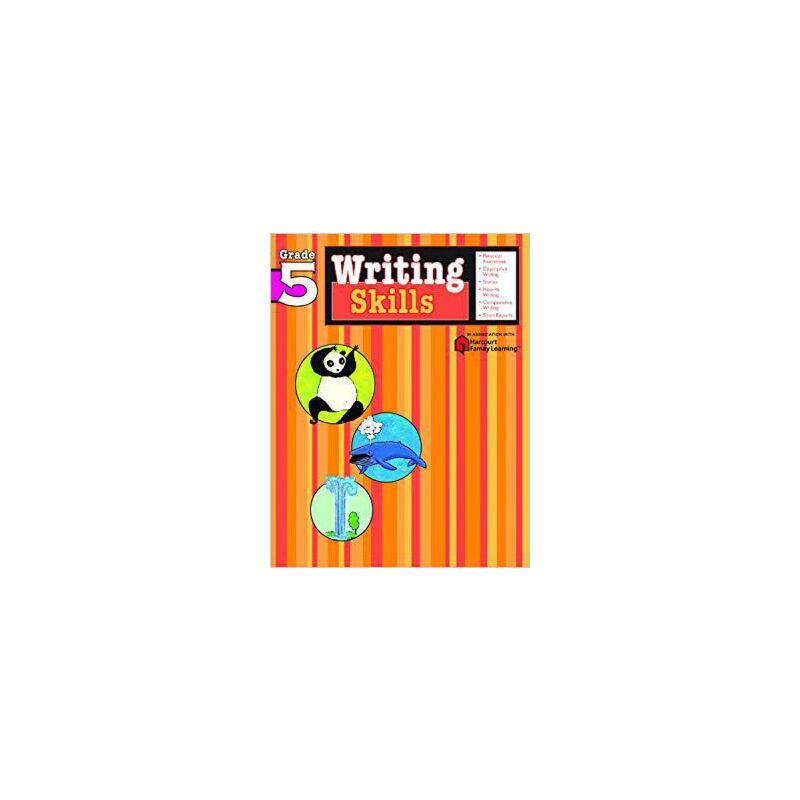 【现货】英文原版 写作技能:5年级 Writing Skills, Grade 5 家庭学习 Flash Kids 系列 9781411404823 国营进口!品质保证!