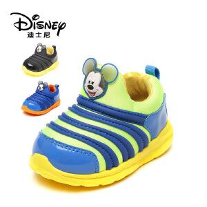 鞋柜/迪士尼米老鼠卡通毛毛虫儿童鞋运动鞋男