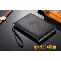 iPad Air2保�o套�O果iPad6真皮iPda平板��X9.7��5�n��外��mini4