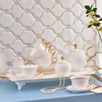 英�W式小咖啡具骨瓷咖啡杯套�b下午茶茶具套�b杯碟茶具