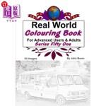 【中商海外直订】Real World Colouring Books Series 51