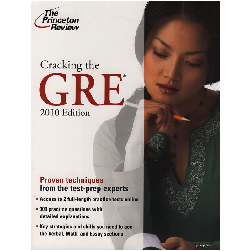 Cracking the GRE, 2010 Edition (Graduate School Test Preparation)    冲刺GRE 2010版