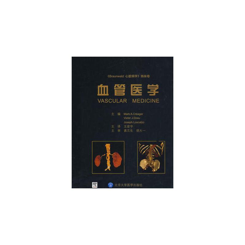 【出版社直销】血管医学 9787811164701 北京大学医学出版社