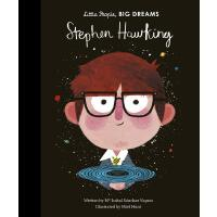 小男孩,大梦想:霍金 Stephen Hawking 英文原版 精装绘本 名人传记 Little People, Big