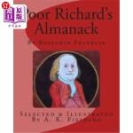 【中商海外直订】Poor Richard's Almanack
