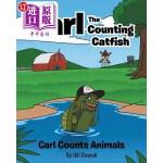 【中商海外直订】Carl the Counting Catfish: Carl Counts Animals