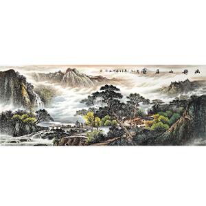 中国美协会员,中国书协会员,龙云书画院院长侯桂峰(幽静山居)25