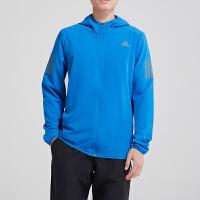 adidas阿迪达斯男子外套夹克跑步防风休闲运动服DN8705