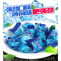 【包邮】强劲薄荷糖500g 提神润喉清凉水果话梅硬糖老式散装提神润喉糖小糖果