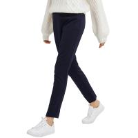 【网易严选3件3折】女式复古弹力针织裤