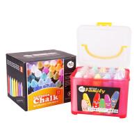 美乐儿童粉笔彩色 无尘粉笔15色20支尖头粉笔盒装 粉笔画板/黑板JM06042