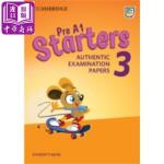【中商原版】剑桥少儿英语第一级3 Pre A1(YLE Starters)真题集:学生书 英文原版 Cambridge