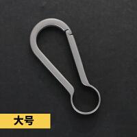 钛合金钥匙扣钛合金汽车钥匙扣男士腰挂个性创意时尚简约定制钥匙扣