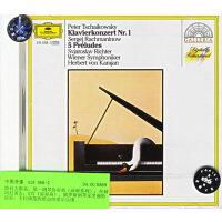 进口CD:柴科夫斯基:第一钢琴协奏曲(画廊系列);拉赫玛尼诺夫:5首《前奏曲》/419 068-2
