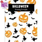 【中商海外直订】Halloween Drawing Prompts