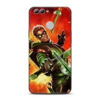 DC漫画英雄绿箭侠华为nova2plus手机黑壳p8标准麦芒6/5/4保护套潮