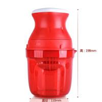 特百惠果汁美眉 便携迷你水果手动原汁机简易家用小型榨汁机
