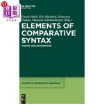 【中商海外直订】Elements of Comparative Syntax: Theory and De*ion