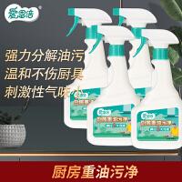 爱恩倍 厨房油烟机清洗剂多功能清洁剂油污净500ml*5瓶