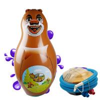 大号充气不倒翁沙袋玩具企鹅大象海马婴儿宝宝玩具0-1-3-4-6岁5