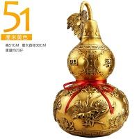 铜葫芦摆件家居装饰品摆设客厅中式工艺品风水摆件