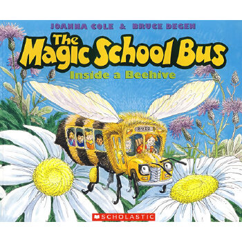 Magic School Bus Inside a Beehive神奇校车-奇妙的蜂巢 9780590257213