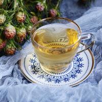 那些时光-玻璃耐热咖啡杯碟陶瓷花茶杯套装下午茶杯花茶具杯碟