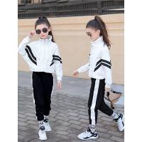 女童秋装运动套装2018新款韩版潮童装秋冬大童洋气儿童时髦两件套