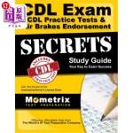 【中商海外直订】CDL Exam Secrets - CDL Practice Tests & Air Brakes